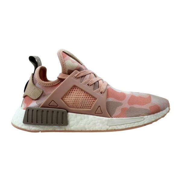Shop Adidas Women S Nmd Xr1 W Vapour Grey Ice Purple Off White