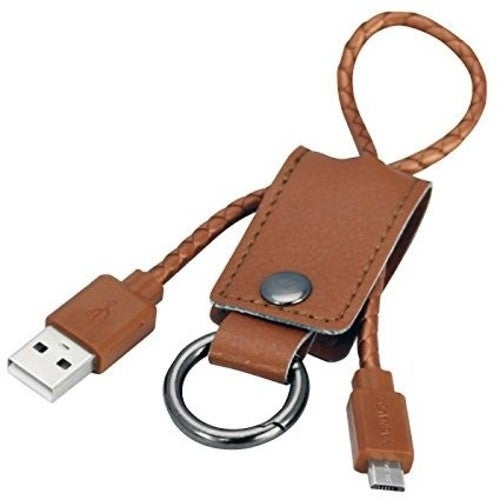 Magnavox Mma3505 Keychain Musb Charge Cable Tan
