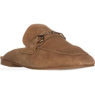 STEVEN by Steve Madden Razzi Slip-On Loafers, Camel Suede