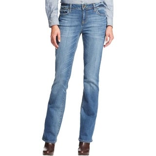 Tommy Hilfiger Womens Bootcut Jeans Denim Mid-Rise