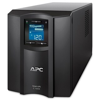 Apc Smart-Ups C 1000Va Lcd 120V Battery Backup & Surge Protector With Smartconnect