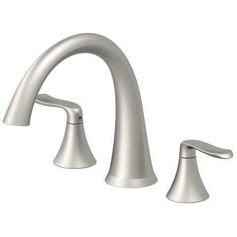 Jacuzzi MX2282 Piccolo Deck Mounted Roman Tub Filler with Metal Lever