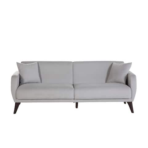 """Bellona Sleeper Sofa-In-A-Box with Storage and Stain-resistant Fabric - 33""""x79""""x31"""""""
