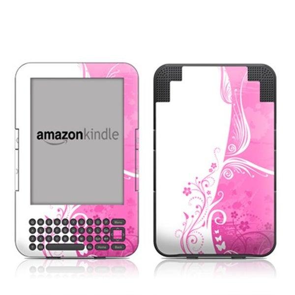 DecalGirl AK3-PINKCRUSH Kindle Keyboard Skin - Pink Crush
