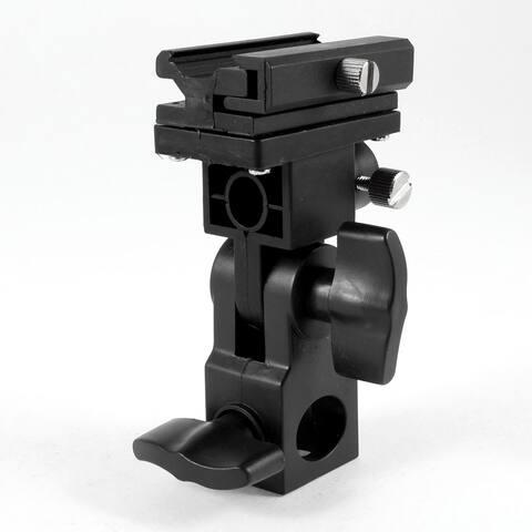 B Type Flash Light Hotshoe Umbrella Mount Holder Bracket for Canon Nikon Camera