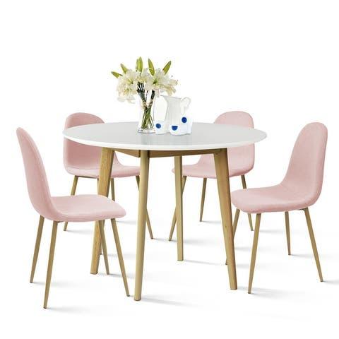 Mid Century 5 Piece Dining Table Set