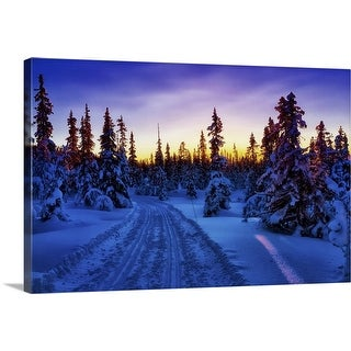 """""""The blue hour"""" Canvas Wall Art"""