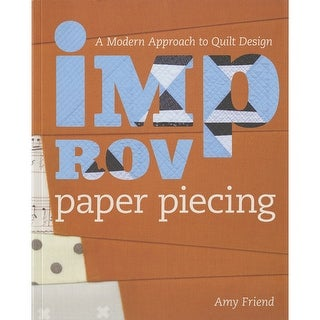Lucky Spool Books-Improv Paper Piecing