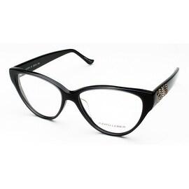 Judith Leiber Women's Marquetry Eyeglasses Hematite - S