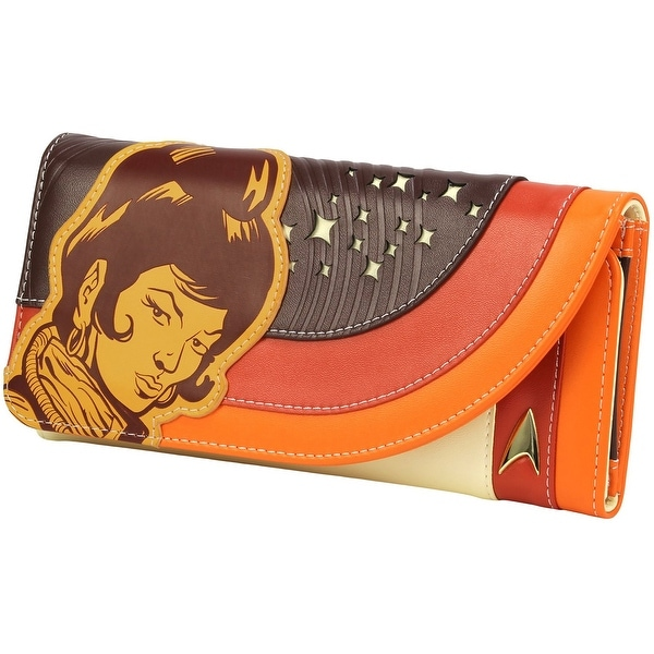 Star Trek: The Original Series Uhura Retro Space Ladies Wallet - Multi