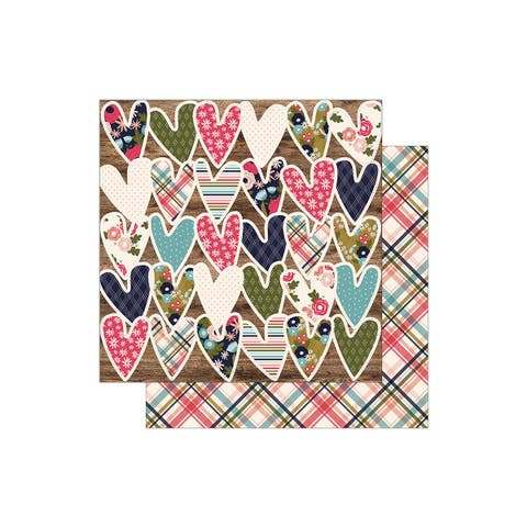 3068 simple stories hello lovely paper 12x12 fabyoulous
