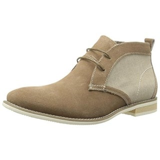 Steve Madden Mens Suede Round Toe Chukka Boots - 11.5 medium (d)