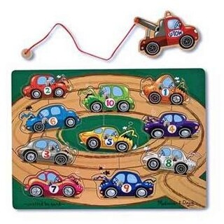 Melissa and Doug Tow Truck Magnetic Puzzle Game