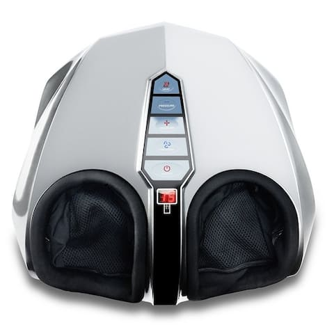 Miko Shiatsu Foot Massager Kneading/Rolling With Switchable Heat and Pressure Settings - 2 Remotes Included