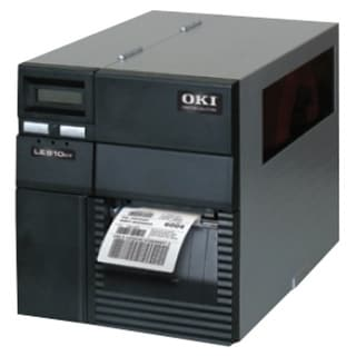 Oki LE810DT Direct Thermal Printer - Monochrome - Desktop - Label (Refurbished)