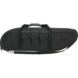 Allen 10928 allen battalion tact case 38 w/3-pockets 2 mags each black