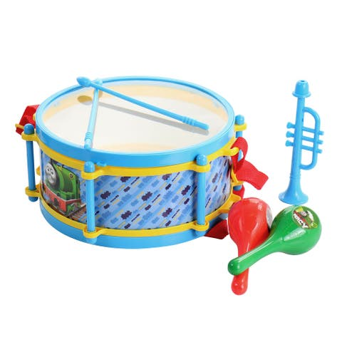 Thomas and Friends 6 Piece Drum Set in Blue