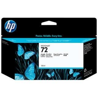 HP 72 130-ml Photo Black DesignJet Ink Cartridge (C9370A) (Single Pack) HP 72 Photo Black Ink Cartridge - Photo Black - Inkjet -