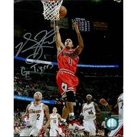 Signed Rose Derrick Chicago Bulls 8x10 Photo autographed