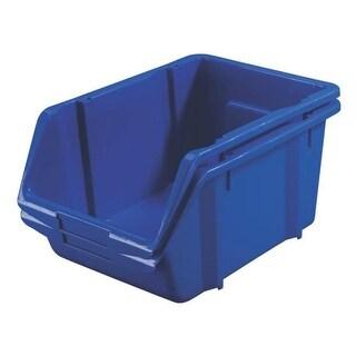 Stack-On BIN-1514 Large Parts Storage Organizer Bin, Blue