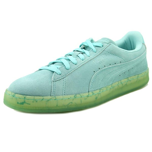Puma Suede Classic Easter FM Men Round Toe Suede Blue Sneakers