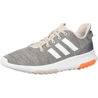 Adidas Kids Cf Racer Tr Running Shoe, Chalk Pearl/White/Hi-Res Orange, 3.5 M Us Big Kid
