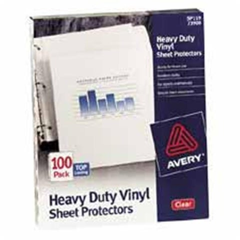 Consumer Products Sheet Protectors- Top-Load- 3 Hole-