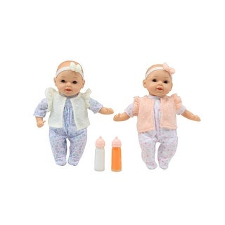 Link to My Dream Baby Dolls 13 Inch Happy Twins 2 Dolls Included Similar Items in Dolls & Dollhouses