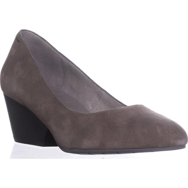 Eileen Fisher Dory Block Classic Pumps, Shadow