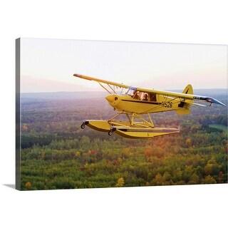 """Floatplane"" Canvas Wall Art"