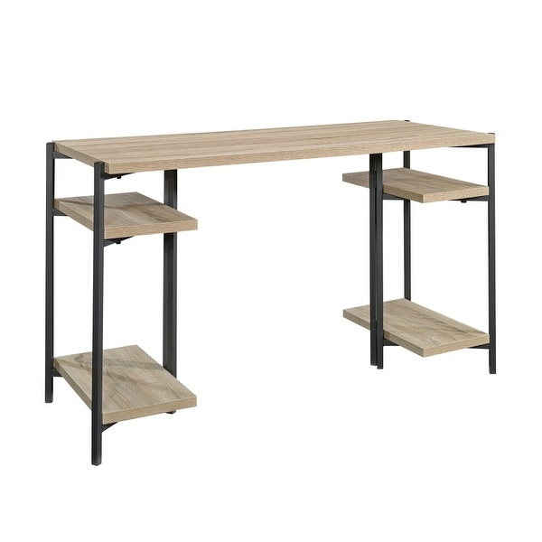 Sauder Woodworking 422097 North Avenue 50 Inch Wide Ready To Emble Desk Chart