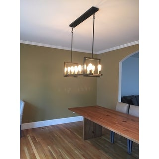 Griffin Rectangular 14-light Chandelier - Free Shipping Today ...