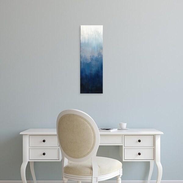 Easy Art Prints Silvia Vassileva's 'Silver Wave II' Premium Canvas Art