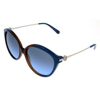 Michael Kors MK6005 MYKONOS 300717 Brown/Blue Gradient Round Sunglasses
