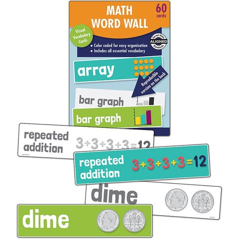 Math Word Wall Gr 2