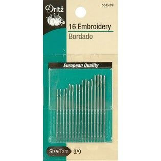 Embroidery Hand Needles-Size 1/5 12/Pkg