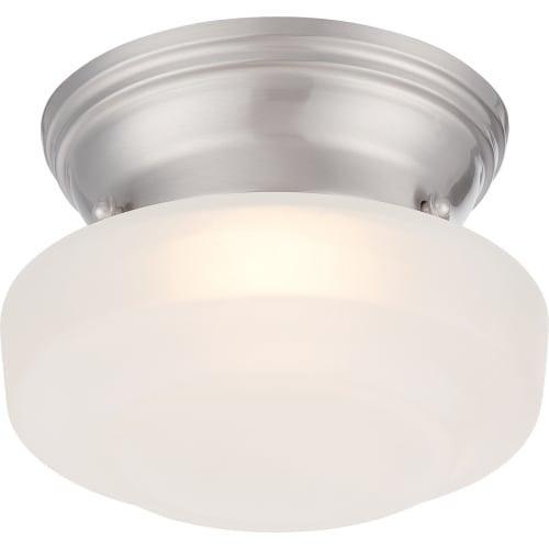 "Nuvo Lighting 62/601 Bogie Single Light 6"" Wide Integrated LED Flush Mount Ceiling Fixture"