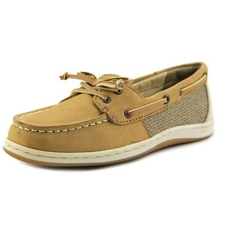 Sperry Top Sider Firefish Women Moc Toe Leather Boat Shoe