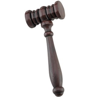 Disguise Judge's Gavel Accessory - Brown