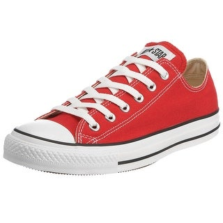 Converse Chuck Taylor All Star Lo Top Red Canvas men's 7.5/ women's 9.5