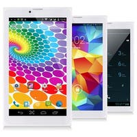 Indigi® 7inch Factory Unlocked 3G SmartPhone 2-in-1 Phablet Android 4.4 KitKat Tablet PC w/ WiFi + Bluetooth Sync (White)