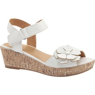 922657ab5340 Shop Nine West Kids Girls  Nickey Quarter Strap Sandal White Smooth - On  Sale - Free Shipping On Orders Over  45 - Overstock - 22205897