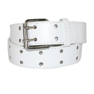 CTM® Kids' Leather Two Hole Jean Belt