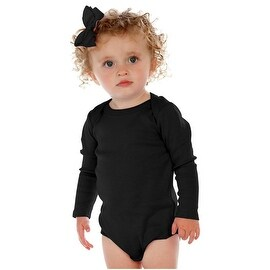 Kavio. Unisex Infants Lap Shoulder Long Sleeve Bodysuit