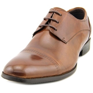 Kenneth Cole NY Good Knight Men Cap Toe Leather Oxford