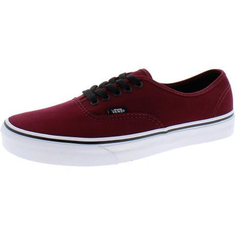 Vans Mens Authentic Skate Shoes Low Top Canvas
