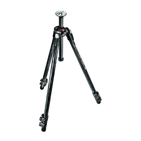 """Manfrotto 290 Xtra 3 Section Carbon Fiber Tripod - 12"""""""