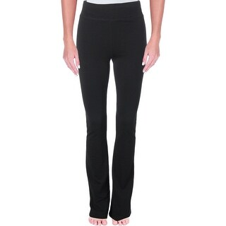 Grey State Womens Yoga Pants Stretch Flare