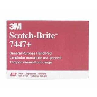 """Scotch-Brite 7447 Scouring Pad, 6"""" x 9"""""""
