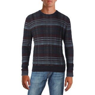 Perry Ellis Mens Pullover Sweater Striped Textured (3 options available)